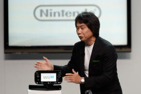 Nintendo visionary Shigeru Miyamoto, creator of many of the brands most popular games, showcased the Wii U at the Electronic Entertainment Expo in Los Angeles, California in June 2012.