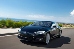 "The Model S is an all-electric sedan that Tesla Motors says ""sets a new standard for premium performance."""