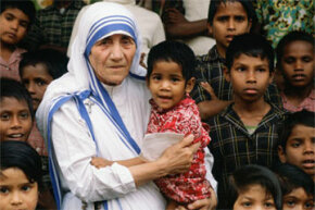 "Mother Teresa snagged her peace prize in 1979 for tirelessly working to help children and refugees. You know who never got one? Mahatma Gandhi aka the ""missing laureate."""