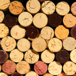 Creating a corkboard from used corks is a fun and easy craft project.