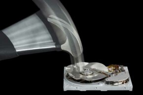 Smashing your hard drive with a hammer will definitely destroy the data but there are more elaborate ways too.