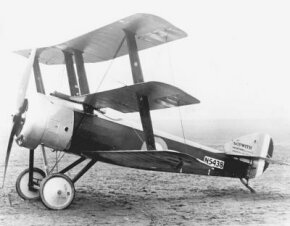 The Sopwith Triplane was perhaps more famous for the planes that imitated it than it was in its own right.