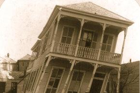 1900 hurricane, twisted house