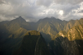Sky-high Andean peaks like these once served as the final resting place for some humans sacrificed by the Incas.