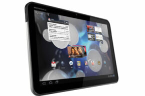 The Motorola Xoom hit the market in early 2011 and is the first device to run the tablet version of the Android operating system.