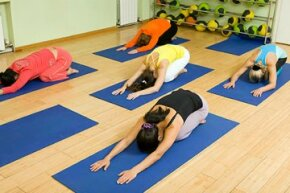 Child's pose is a resting position, but it still stretches of the hips, thighs, and ankles.