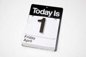 Because there wasn't a Thursday, April 0 the day before, the Gregorian calendar has a built-in flaw.