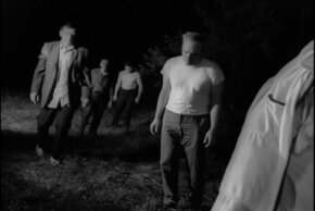 "Many movies follow the example of ""Night of the Living Dead"" and portray zombies as far more dangerous in large groups."