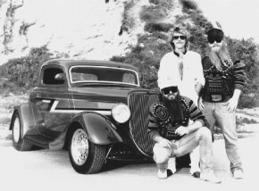 ZZ Top frontman Billy F. Gibbons had this chopped 1933 Ford built in the early 1980s -- the car would later be known as the Eliminator. See more  hot rods pictures.