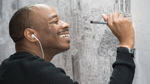 Artist Stephen Wiltshire Draws Entire Cities from Memory