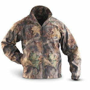 This jacket from Scent-Lok uses charcoal to hide human scent.