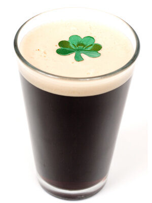 The shamrock is a major symbol of St. Patrick's Day.
