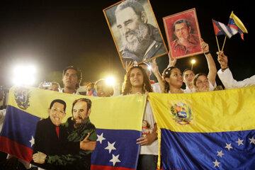 A political celebration in Venezuela