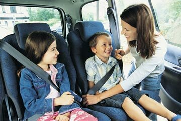 Working out a carpooling schedule can cut down on time and money spent driving to school and sporting events.