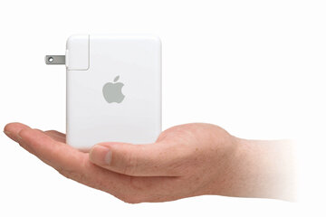 The pint-sized AirPort Express is jammed with all sorts of wireless networking capabilities. You can set up an access point, stream songs and video through iTunes, and much more.
