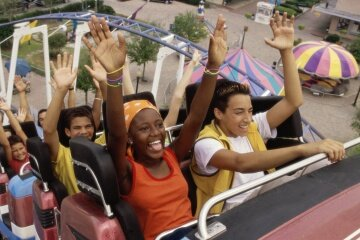 Many would be envious of you if you got paid to ride rollercoasters, but it's not all fun and giggles. Being among the first riders can be risky.
