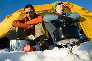 Bundle up and enjoy nature's snowy majesty.