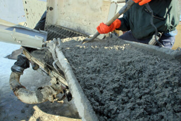 Concrete is so viscous and sets so quickly that it leaves residue after every load. Eventually someone with a jackhammer must climb into the drum to clean it out.