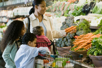 Take your children shopping with you, and let them help make decisions.
