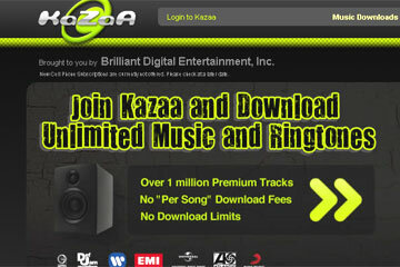 Kazaa enables its users to share not only music, but also movies, television shows and other types of digital information. See more pictures of popular web sites.