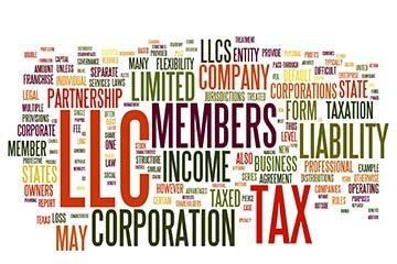 LLCs can be C corporations, S Corporations, single-member or  other permutations.