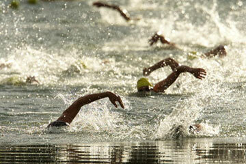 Aquathlons tend to reward strong swimmers who feel shortchanged by the traditional triathlon format.