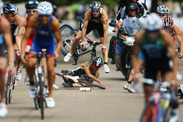 Triathlons are tough, but some triathlons are tougher than others.