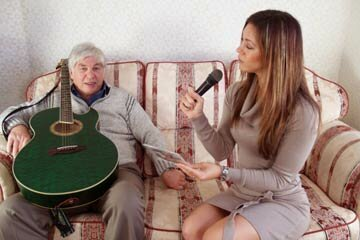 During your interviews, ask what songs were popular or have them sing the lullaby they once whispered to your parent.