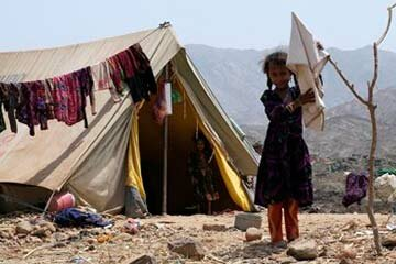 Many Yemeni have been displaced by the violent conflict between their government and local Shiite rebels.