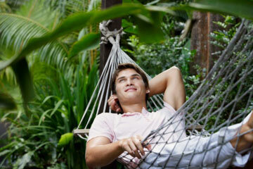 Image Gallery: Paradise Sustainable travel can include relaxing on a hammock at an eco resort. See pictures of paradise.