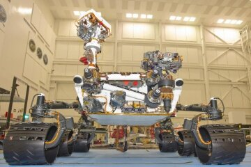 Rovers like Curiosity have helped us to do a little reconnaissance on Mars.