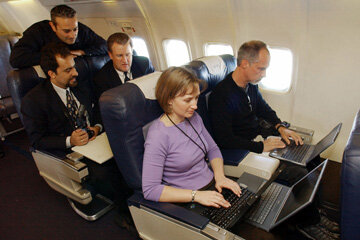 In-flight wireless internet is a great way to stay connected -- even while you're several miles above the ground.