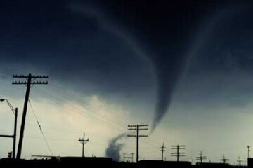 A tornado hits Pampa, Texas. See more pictures of natural disasters.