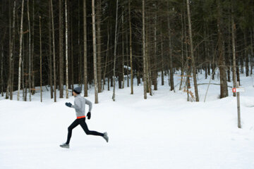 Despite the risks, it's possible to get a good triathlon workout in the cold.