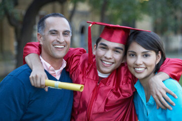 Parents can take out loans to help with their children's education as well.