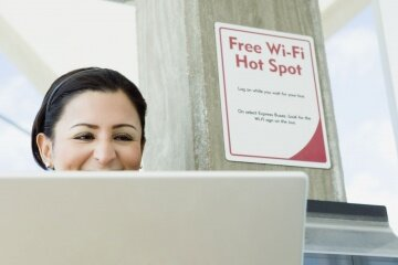 Many public spaces such as restaurants and retail stores now offer WiFi as a free service to customers.