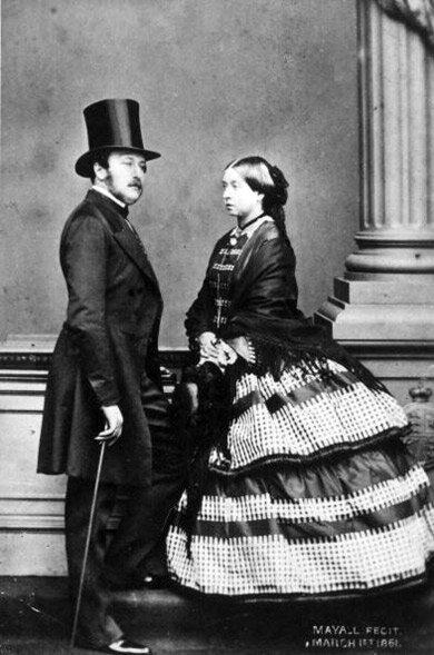 Prince Albert and Queen Victoria