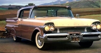 Mercury's Turnpike Cruiser landed for 1957 in three body styles, including this hardtop sedan. See more classic car pictures.
