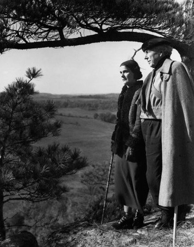 Frank and Olgivanna Lloyd Wright
