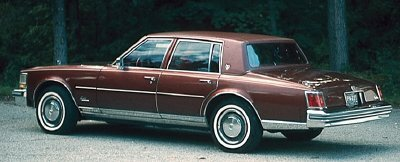 The 1976 Cadillac Seville's smooth ride and brisk performance made it a hit with consumers.