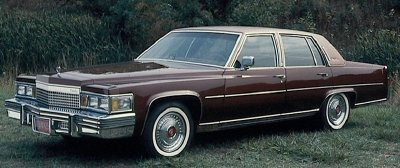 This 1979 Cadillac Fleetwood Brougham sedan was available with an optional diesel V-8.