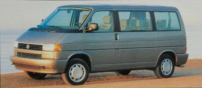 With the redesigned 1993 Volkswagen Bus, the EuroVan, VW exchanged rear-engine, rear-wheel drive, for a modern front-engine, front-drive layout.