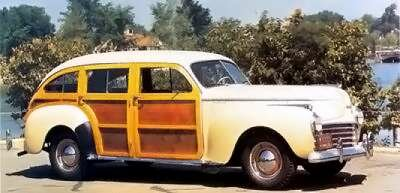 The Chrysler Town & Country's 'clamshell' rear doors set it apart from contemporary wagons.
