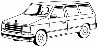 Learn how to draw this minivan.