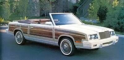 The 1984 Chrysler Town & Country convertible offered nostalgia and style.