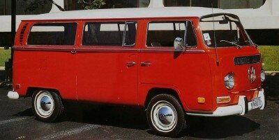 The second-generation Volkswagen Bus launched for 1968 and lasted through 1971. It retained the Beetle-based chassis, but had a new, larger body.