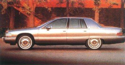 The 1992 Roadmaster sedan listed at $20,890.