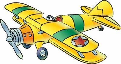 Use step-by-step instructions to draw this biplane.