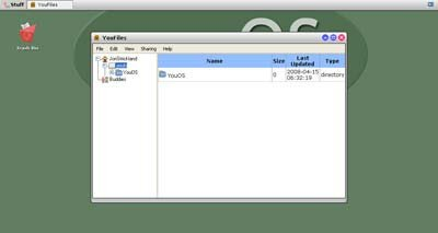 YouOS is one of the more popular Web operating systems on the Internet.