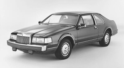 With its aerodynamic look, the 1985 Lincoln Mark VII LSC represented a departure from the typical stodgy Lincoln design.